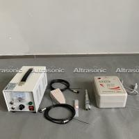 Replaceable Blades Ultrasonic Textile Cutting Machine 3M Length Of Cable Manufactures
