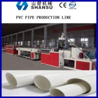Screw Core Cooling Plastic Pipe Extrusion Machine , PVC Pipe Manufacturing Machine Manufactures