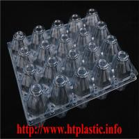 PVC egg tray/Egg contaienr packing Manufactures