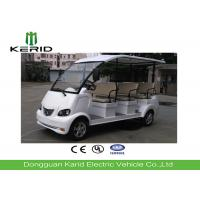 Multi Passenger Electric Sightseeing Bus , 8 Seater Golf Cart Street Legal Manufactures
