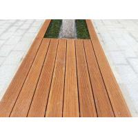 Durable Green Material Bamboo Park Bench Modern Appearance Customized Size Manufactures
