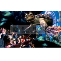 Realistic 6D Cinema Simulator With Cinema Special Effects And Curved Screen Manufactures