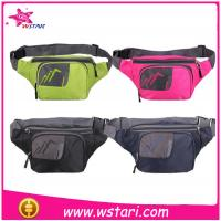 2015 new production of high-quality nonwoven backing base waist bag sports bag Manufactures