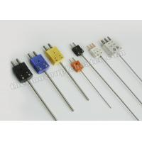 China Nickel - Plated Iron Thermocouple Components RTD ConnectorApproved CE on sale
