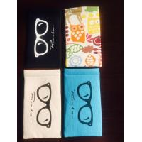 Custom Handmade Soft Glasses Case , Reading Glasses Soft Case Candy Colors Manufactures