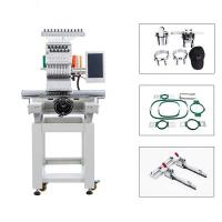 Quality Commercial Cap & T Shirt Computer Embroidery Machine Single Head High Precision for sale