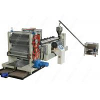 Waterproof Drainage Board Production Machine Line With Dimpled Plastic Sheet Manufactures