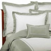 Bed Linen, Made of Cotton with Printed or Embroidery, Various Colors are Available Manufactures