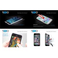 iPhone 6 PlusTempered Glass For Mobiles , Glass Tempered Screen Protector Manufactures