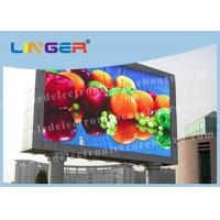 Full Color Waterproof 1R1G1B SMD LED Display P8 Energy Saving 192mm*192mm Manufactures