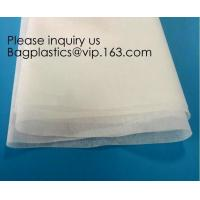 PVA Cold Water Soluble Non Woven Fabric Embossed Pattern For Embroidery,Cold Water Soluble Fabric,Dissolving for Textile Manufactures