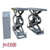 Electronic Hydraulic Vehicle Scissor Lift With Control Box 3500KGS Capacity Manufactures
