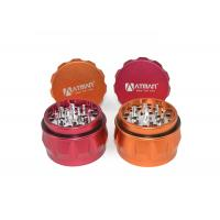 China Fashion Beauty Colors Tobacco Smoking Grinder / 4 Layers Weed Grinder on sale