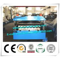 China Metal PU Sandwich Panel Production Line Steel Floor Decking Forming Machine on sale