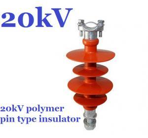 high voltage polymer pin insulator of 11kV 15kV 20kV 22kV 25kV 33kV 36kV pin insulator Manufactures