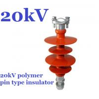 Buy cheap high voltage polymer pin insulator of 11kV 15kV 20kV 22kV 25kV 33kV 36kV pin insulator from wholesalers
