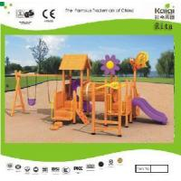 Wooden Outdoor Playground (KQ9158A) Manufactures