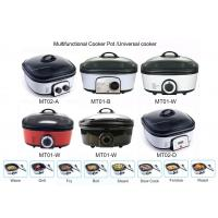 Multi Purpose Automatic Electric Pressure Cooker 1200-1400W Easy Programming Manufactures