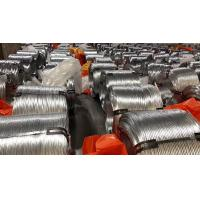 EN10257 Non - Alloy Galvanized Steel Wire , Zinc Coated Wire For Armoring Manufactures