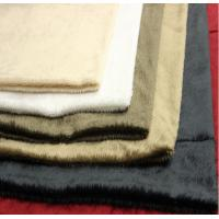 Custom Microfiber Suede Upholstery Fabric 350gsm~550gsm For Garments Manufactures