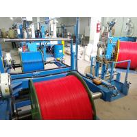 China 0.5 Mm2 Copper Wire And Cable Extrusion Machine With Mitsubishi Belt on sale