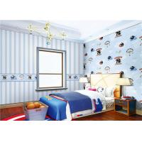 Waterproof Cute Bedroom Wallpaper Non - Pasted For Boy , Eco Friendly Manufactures