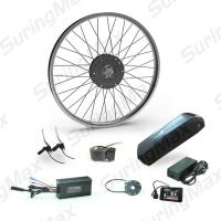 High Speed Electric Mountain Bike Motor Kit With LG Cell Lithium Battery Manufactures
