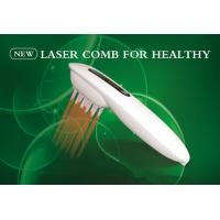 Beauty Salon Equipment  Laser Comb LLLT 15 Diode Lasers For Hair Care Hair Loss Manufactures