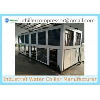 500kw Industrial Air Cooled Water Chiller for Cooling Water Tank Manufactures