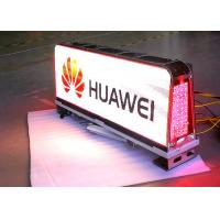 1/12 Scan Outside Led Taxi Sign / Car Led Sign Display High Brightness Manufactures