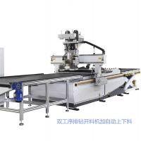 Bearing Strong 1325 CNC Router Machine With Auto Tool Changing Function Manufactures