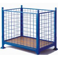 Easy Operation Security Cages For Storage , Warehouse Storage Cages Rust Free Wheels Manufactures