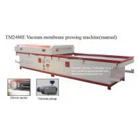 China mdf kitchen cabinet doors PVC vacuum membrane press machine on sale