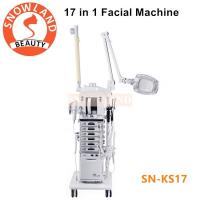 Salon Use 17 In 1 Multifunction Facial Cleansing Brush Manufacturers Skin Care Machine Manufactures