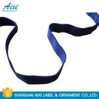 Decorative Coloured Fold Over Elastic Webbing Straps For Underwear Manufactures