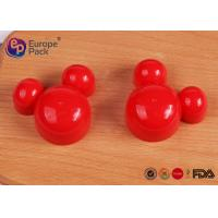 Non Toxic Plastic Mickey Mouse Clubhouse Cookie Cutters ABS Material Manufactures