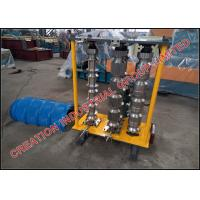 Trapezoid Profiled Roofing Sheet Curving Machine With Simple Manual Controller Manufactures