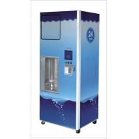 China Credit Card Pure Water Vending Machines With Lcd Advertising Display 24v RO Bump on sale