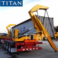 China 20/40ft Container Side Loader Trailer for Sale | What is a side loader truck? on sale