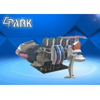 6 Luxury Seat Arcade Games Machines Space Ship With 6dof Electric System Manufactures