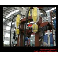 T / I / H Beam Welding Line With Automatic Flux Recycling System Assembly and Straightening Manufactures