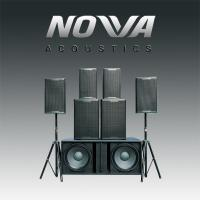 Quality Indoors / Outdoor Real Sound Professional Audio Systems For Living Show for sale