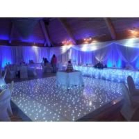 China Hot sale led wedding/party starlit dance floor on sale