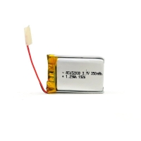 350mAh 3.7 V Lithium Polymer Battery CV Charge KPL652030 Manufactures