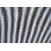 Beautiful Cotton Blended Fabric / Yarn Dyed Stripe Fabric Shrink - Resistant Manufactures