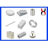 Customized Neodymium Iron Boron Magnets , Zinc & Nickel Coating Rare Earth Magnets Manufactures
