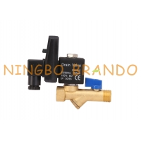 China 1/4'' 1/2'' Air Compressor Automatic Drain Valve Jorc Type 120V 230V on sale