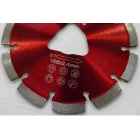 Soff Cut Laser Welded 6 Inch Diamond Saw Blades For Green Concrete Cutting Manufactures