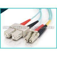 Buy cheap Bend Insensitive Multimode Fiber Optic Patch Cables LC - SC 2.0mm for Telecommunication from wholesalers