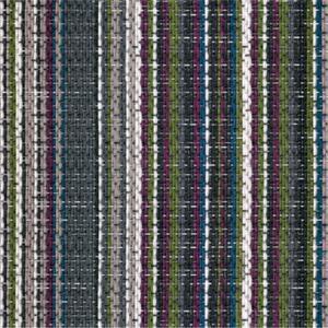 Multi Stripe Rectangle Woven Vinyl Flooring , Indoor PVC Woven Vinyl Tile Manufactures
